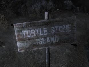 The Island's sign