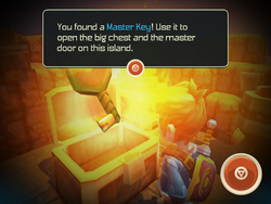 Master Key from chest