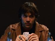 Barry Watson playing poker