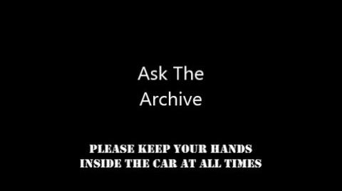 2nd Ask The Archive Live