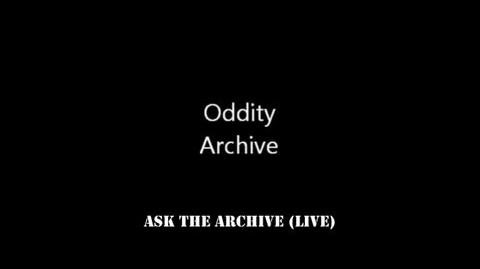 Ask The Archive (LIVE - 9 5 2013)