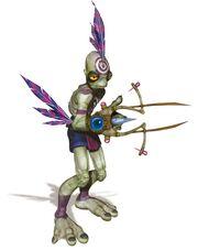 Oddworld munchs oddysee conceptart mucarcher