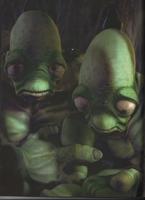 Sad mudokon pair