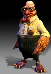 Clakkerz scientist render