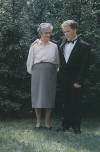 Margreta mit Enkel
