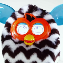 A Furby BOOM! In Jolly mode.