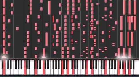 Red Zone Black MIDI Synthesia