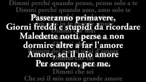 Il Volo- Grande Amore- OFFICIAL AUDIO (Testo Lyrics) - SANREMO 2015