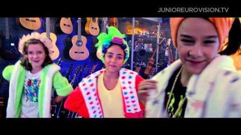The Virus - Gabede - Georgia - 2015 Junior Eurovision Song Contest