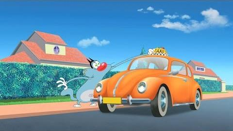 Oggy and the cockroaches season 4 Hep taxi!