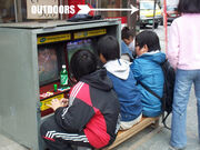 Game outdoors