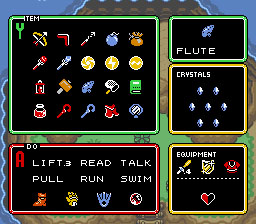 Link to the Past Items