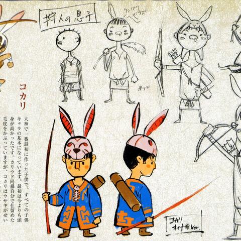 Concept art of Kokari.
