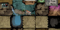 Digging minigame