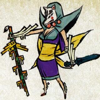 Concept art of Evil Rao.