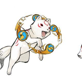 Chibiterasu's Divine Retribution, Devout Beads, and Tsumugari