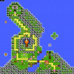 Complete Retro map