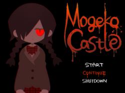 Mogeko castle title screen