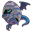 Dragon Egg (blue)