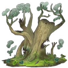 Green Sacred Tree 1