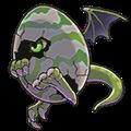 Dragon Egg (green)