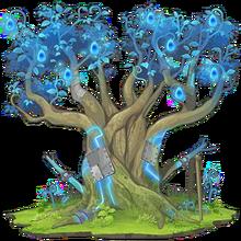 Blue Sacred Tree 2
