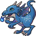 Rowdy Dragon (blue)
