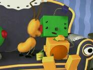 Billy Bevel's green head