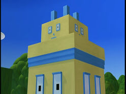 Detail of a house Billy Bevel