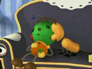 Olie Polie's green head