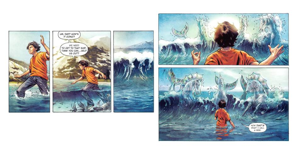 The Sea of Monsters graphic novel Riordan Wiki FANDOM