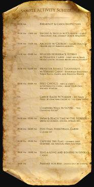 Activity-schedule