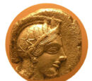 Golden drachma