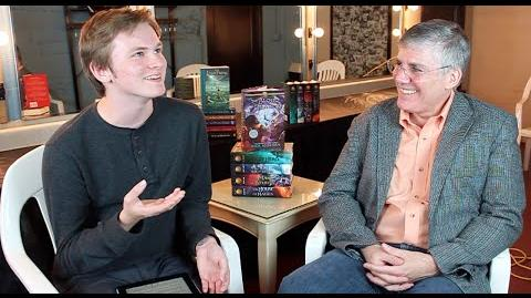 AN INTERVIEW FROM OLYMPUS Rick Riordan & tiernanbe