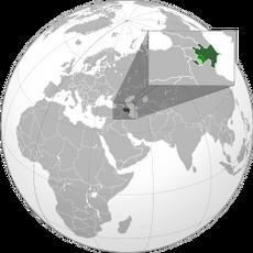 AzerbaijanLocation