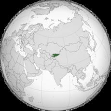 KyrgyzstanLocation