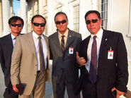 OHF- Andy Cheng, James Lew, Steve Kim & unknown on-set