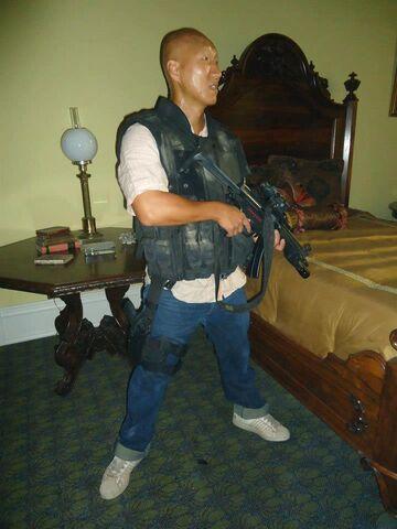 File:OHF- Arnold Chon as armored bad guy wardrobe