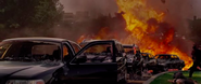 OHF- White House cars destroyed by first RPG blast