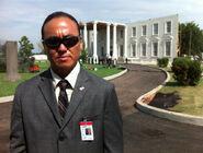 OHF- Steve Kim as Korean motorcade agent