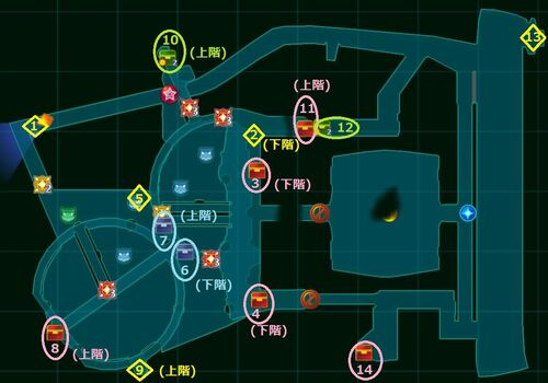 NBD Lost Item Map