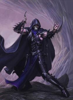 Dark elf assassin by teresthul-d3n0iqj