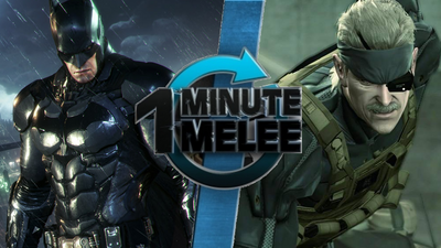 Batman vs Solid Snake