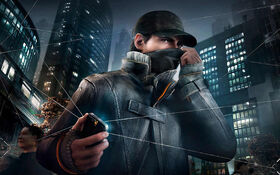 Aiden pearce in watch dogs-wide