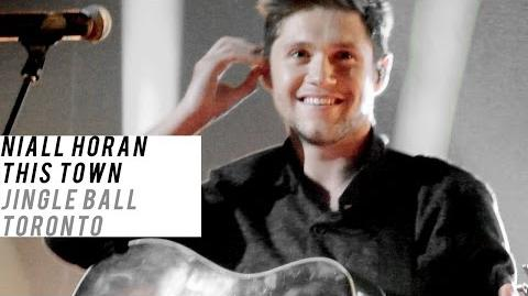 This Town, Niall Horan Jingle Ball Toronto Nov 25, 2016