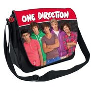 First 1D claire's messenger bag