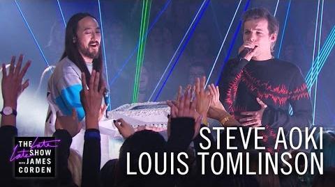 Steve Aoki & Louis Tomlinson Just Hold On-0