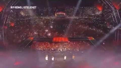 One Direction Drag Me Down Premios Telehit 2015