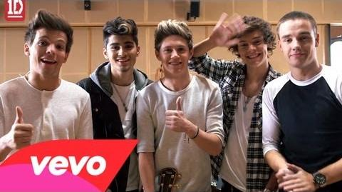 One Direction - Little Things - Behind The Scenes