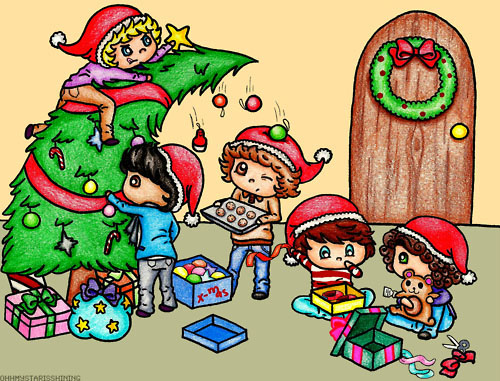 File:One direction cute christmas!.jpg